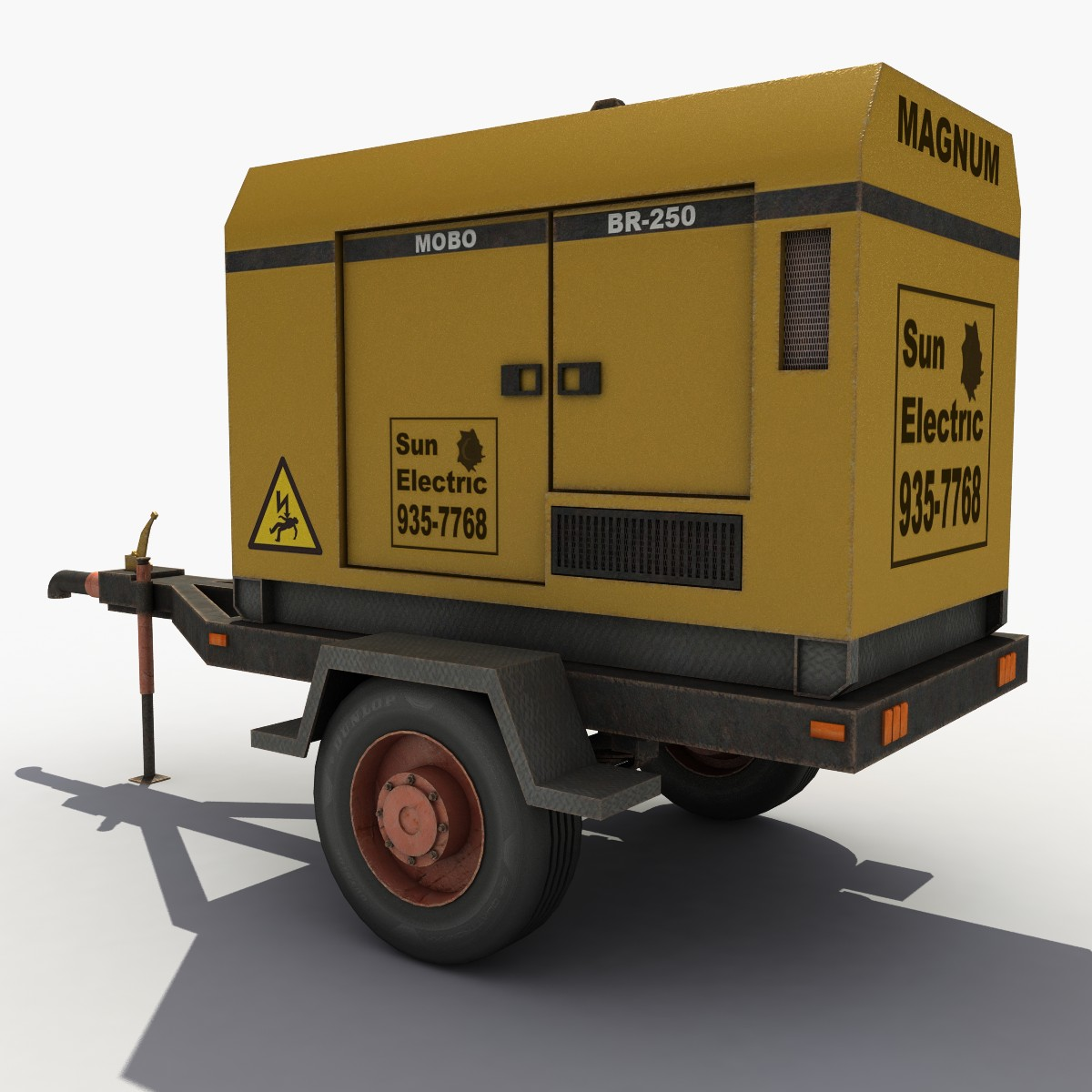 Mobile Electric Generator